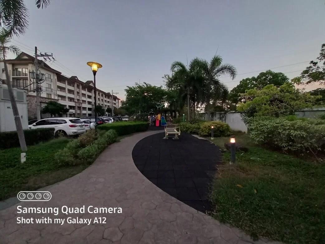 Samsung Galaxy A12 Camera Sample - Playground, Ultrawide