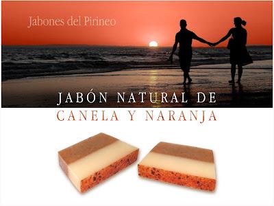 Jabón de Canela y Naranja