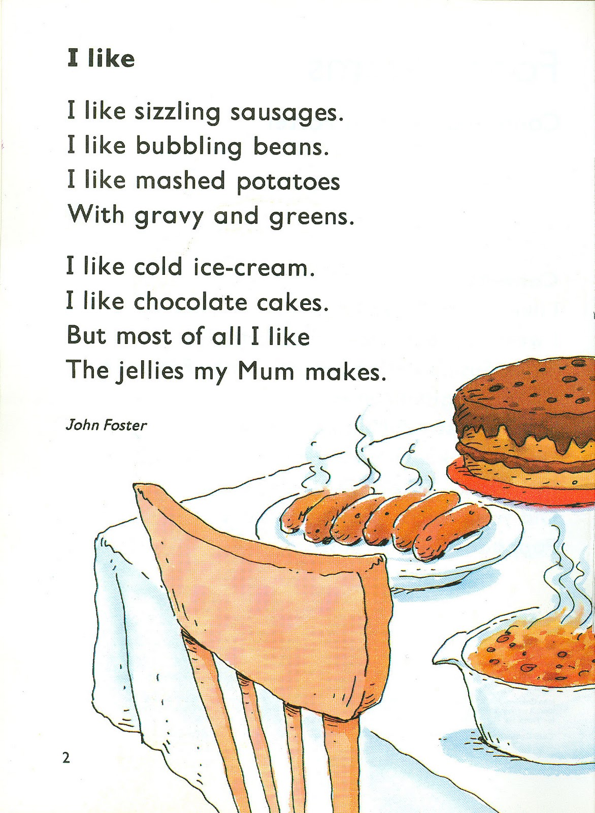 Food poems funny food for Cuisine in english