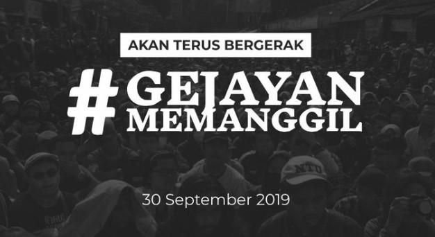 Gejayan Memanggil 2 Digelar 30 September, Buruh dan Petani Ikut Turun