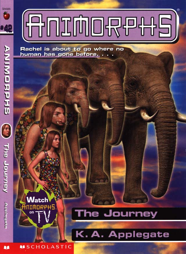cinnamon bunzuh an animorphs review blog book 42 the journey