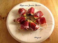 Higos con jamón ibérico