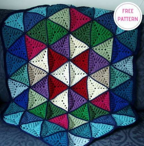 Triangle Afghan - Free Pattern