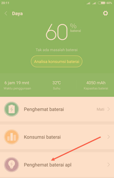 Cara Jitu Menghemat Daya Baterai Semua HP Xiaomi