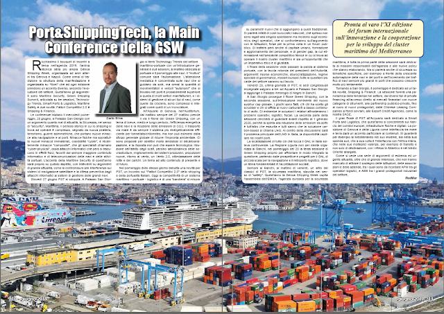 GIUGNO 2019 PAG. 10 - Port&ShippingTech, la Main Conference della GSW