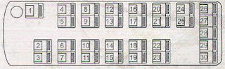 sketsa bus hino 30 tempat duduk