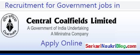 Government Jobs in Central Coalfields Ltd.