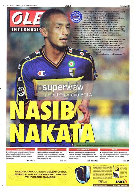 OLE! INTERNASIONAL: NASIB NAKATA