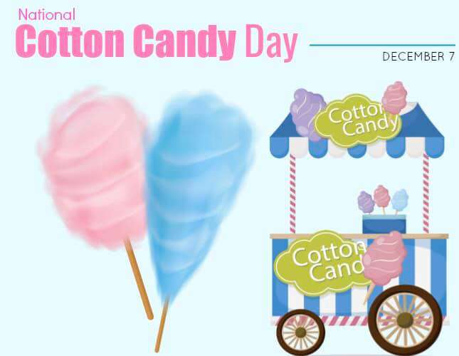 National Cotton Candy Day Wishes Images
