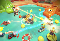 Micro Machines World Series Game Screenshot 2