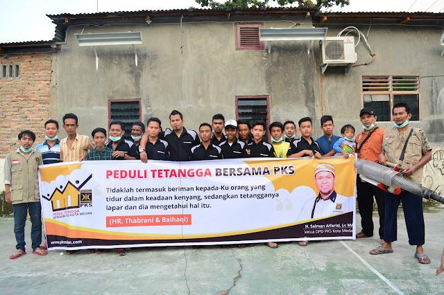 Sukseskan Program Peduli Tetangga, PKS Serbu Rumah Warga Pinggiran Rel