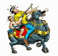 Gamraj, Shankalu and Yamunda Raj Comics