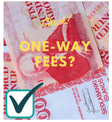 pay attention to one-way fees