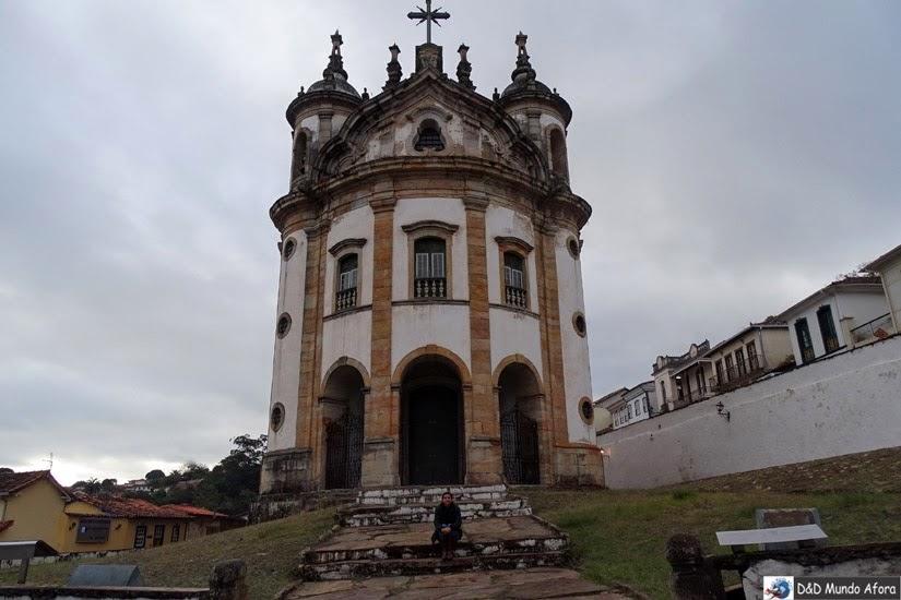 Igreja do Rosário - Passeio de jardineira em Ouro Preto