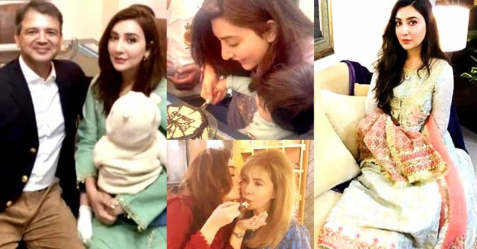 Ayesha Khan 38th Birthday Celebrations with Family