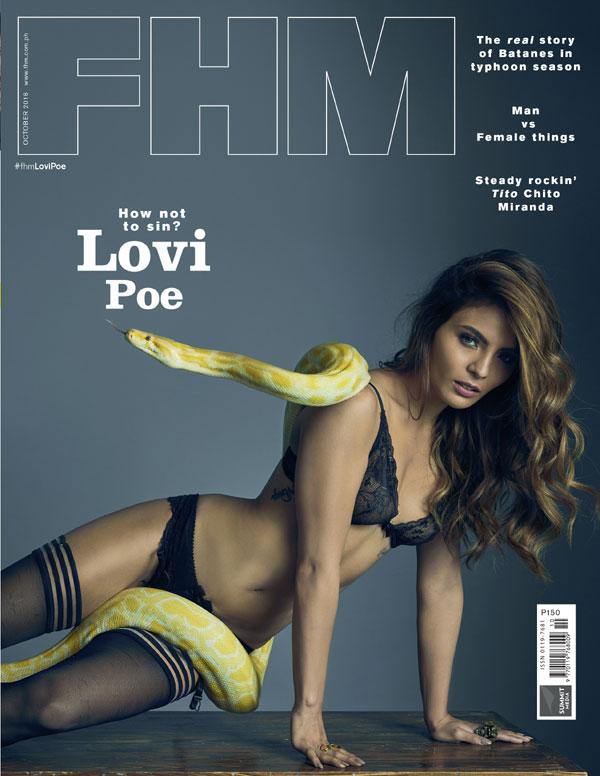 Lovi Poe FHM October 2016 Cover Girl Download