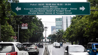 Resmi Diumumkan! Ini 16 Rute Baru Ganjil-Genap di Jakarta