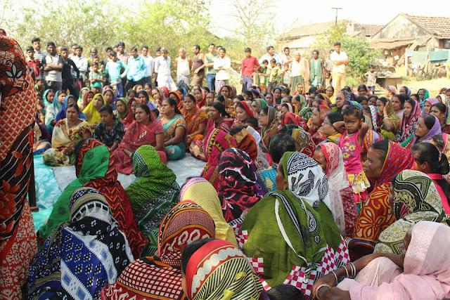 3 Election campaining at pathuri under Bangriposi Constituency by Sudam Marandi, BJD Leader