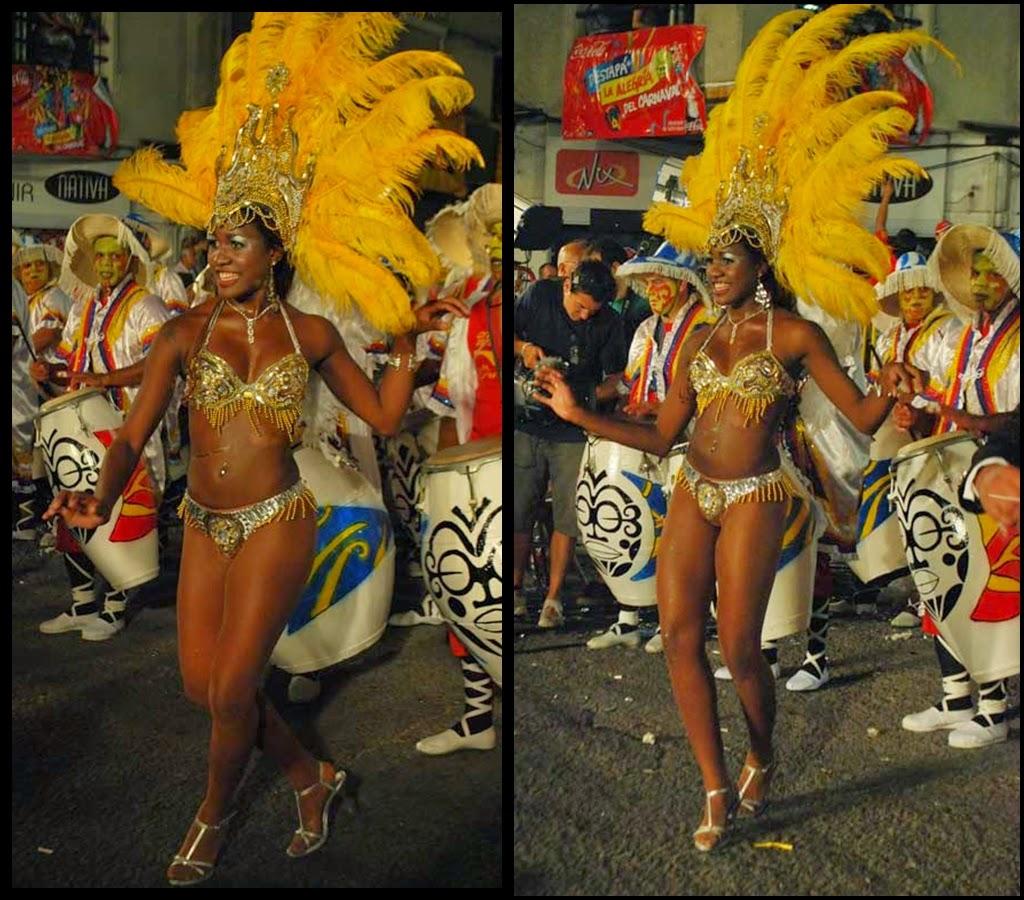 Desfile de Llamadas.Candongafricana. Montevideo. 2011