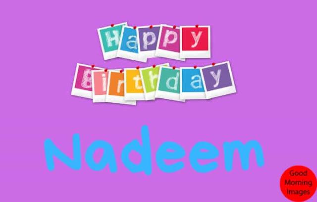 birthday image name nadeem