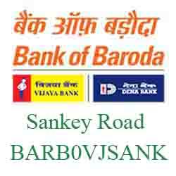 Vijaya Baroda Bank Sankey Road Branch New IFSC, MICR