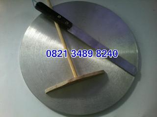 Cetakan kue crepes dari curah aluminium