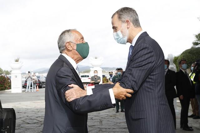 El Rey de España y el Presidente de Portugal marcan muy especialmente la tarde de un jueves en A Toxa