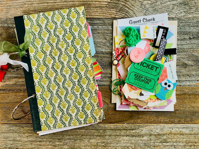 #junk journal #art journal #books #rescued books #book journals #recycled books #Reader's Digest #journaling