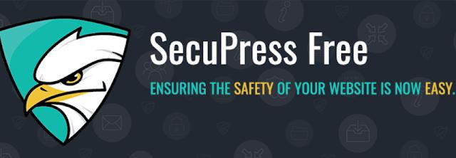 Plugin Security Terbaik Untuk WordPress SecuPress Free