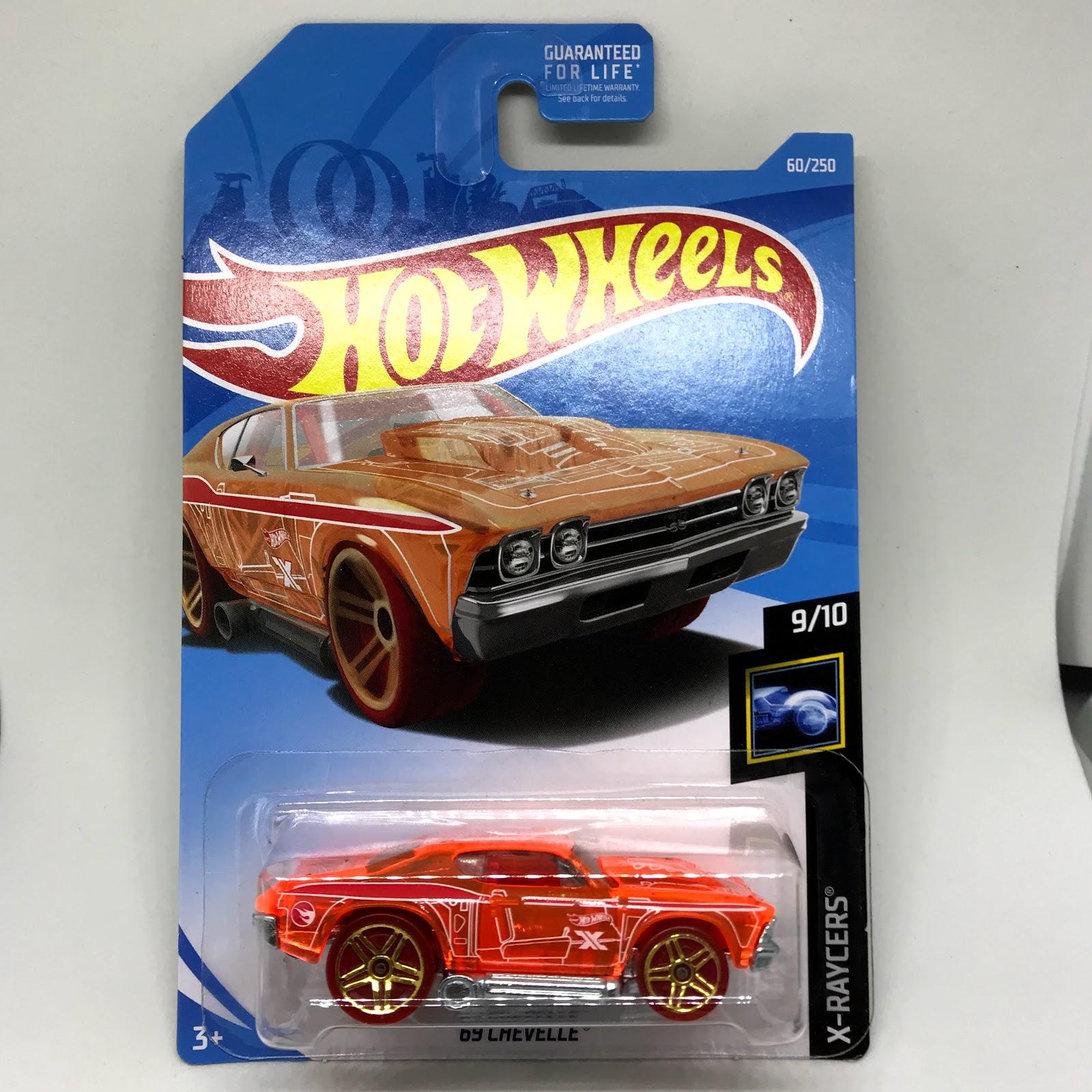 2019 Hot Wheels X-RACERS 9//10 Seceret Treasure Hunt /'69 Chevelle 60//250