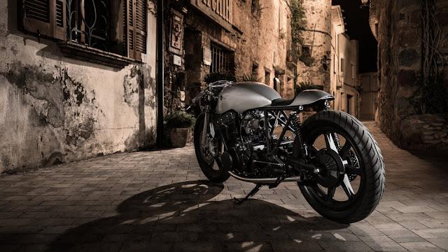 Yamaha XS750 By Auto Fabrica Hell Kustom
