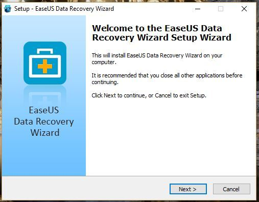 Cara install EaseUS data recovery wizard pada Windows 4