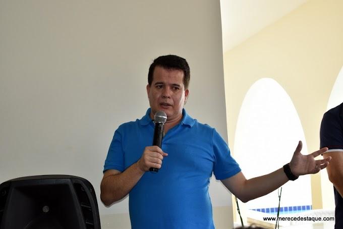Em encontro com a imprensa Edson Vieira faz balanço de 2017 e fala em planos para 2018