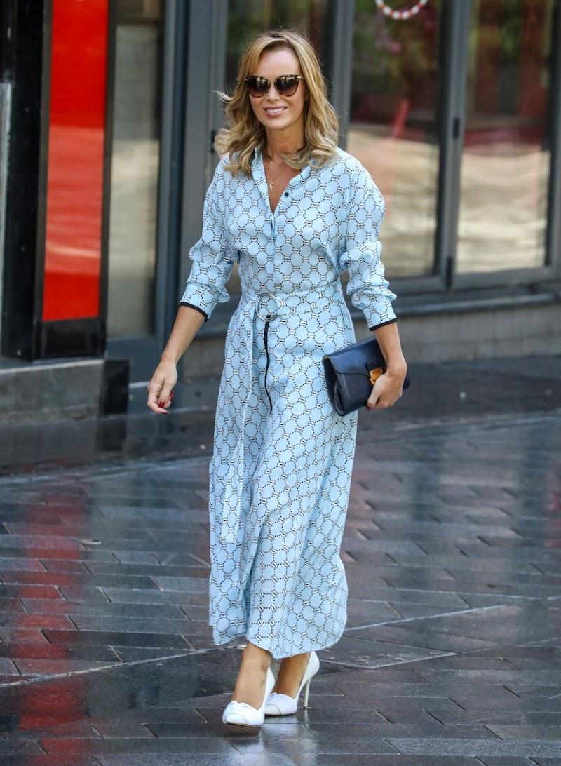 Amanda Holden Spotted While Leaving Global Studios in London 15 Jun-2020