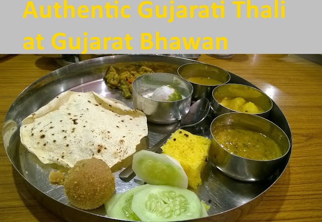 Noida Diary: Authentic Gujarati Thali at Gujarat Bhawan
