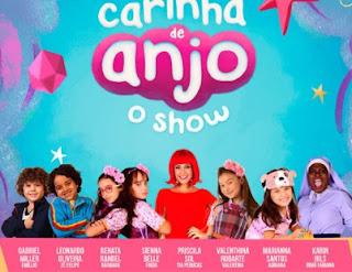 Agenda Shows Carinha de Anjo 2017 2018 Show Atores Novela SBT