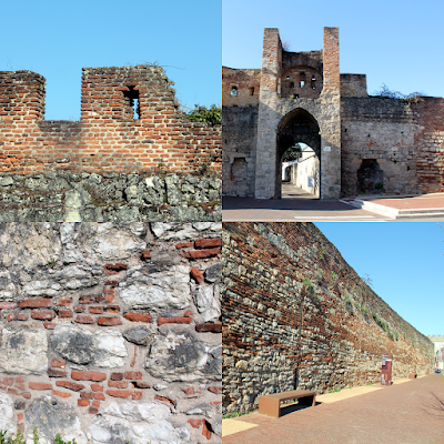 The ramparts or Barbacane.
