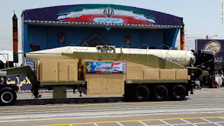 Iran tests a new ballistic missile Khorramshahr range of 2000 km