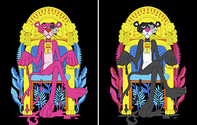 "Pink Panther ""The Best Revenge"" Print by Matt Gondek x Avenue des Arts"