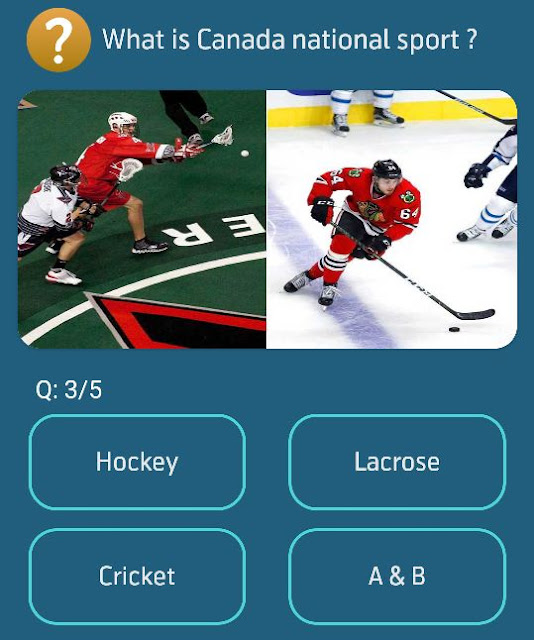 What is Canada national sport ?