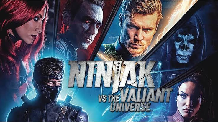 Ninjak vs. the Valiant Universe (2018) Bluray Subtitle Indonesia