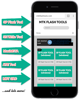 MTK Flash Tools - Database for MediaTek Flash Tools