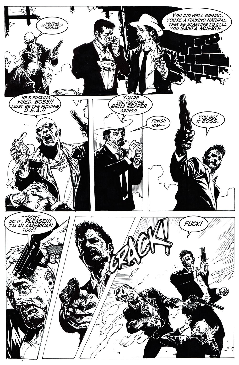 Old Skull Comics: PSYCARIO: Volume One