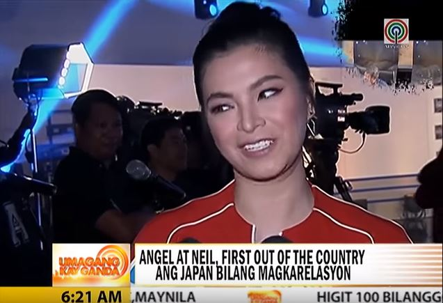 After Her Japan Trip, Angel Locsin Returns To Work!