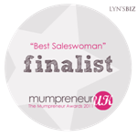 "Shellybobbins ""FINALIST""  for MumPreneur National Award 2011"