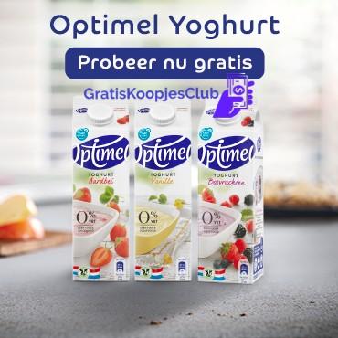 Gratis Campina Drinkyoghurt Met Een Vleugje
