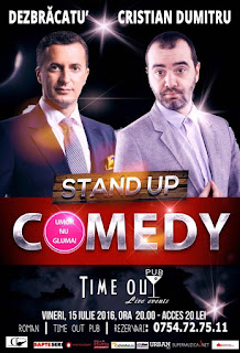 Stand-Up Comedy Roman Vineri 15 Iulie