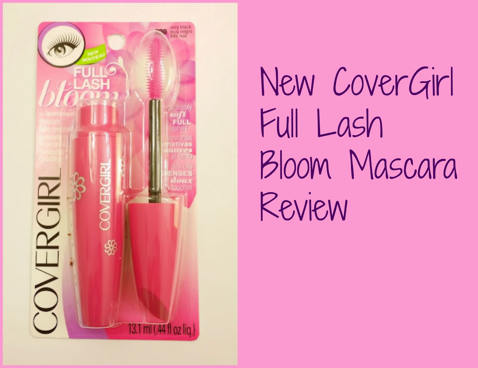7518da2bd05 New CoverGirl Full Lash Bloom Mascara Review. Hello Beautiful Dolls! I  don't know where you dolls live but yesterday was nice and sunny people  weren't ...