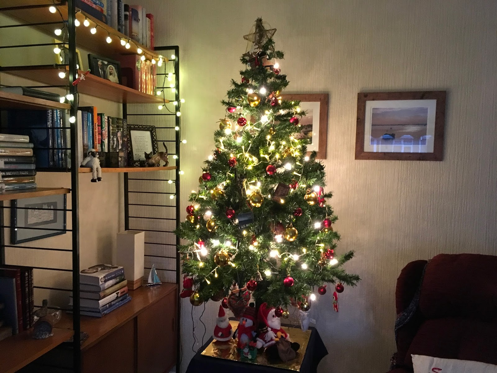 Ramblings from an English Garden: I Think it is Christmas! At home ...