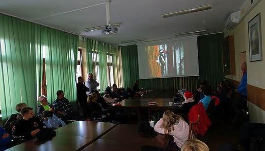 Spotkanie w Nadleśnictwie Stary Sącz.